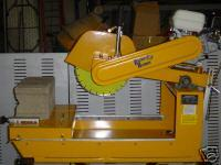 2010 PACKER BROTHERS BRICK TILE CONCRETE BLOCK SAW