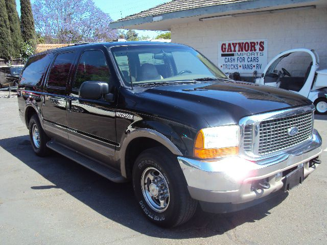 2001 FORD EXCURSION LIMITED 2WD black 2001 ford excursion limited 54 litre v8 full power leather 