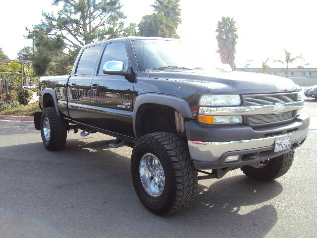 2002 CHEVROLET SILVERADO 2500 CREW CAB SHORT BED 2WD black 2002 chevrolet silverado 2500 hd 66 tu