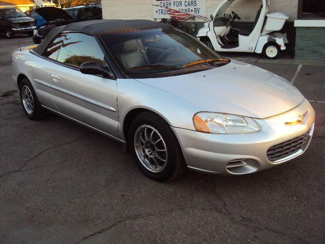 2003 CHRYSLER SEBRING GTC CONVERTIBLE silver air conditioningalloy wheelsamfm radioanti-brake 