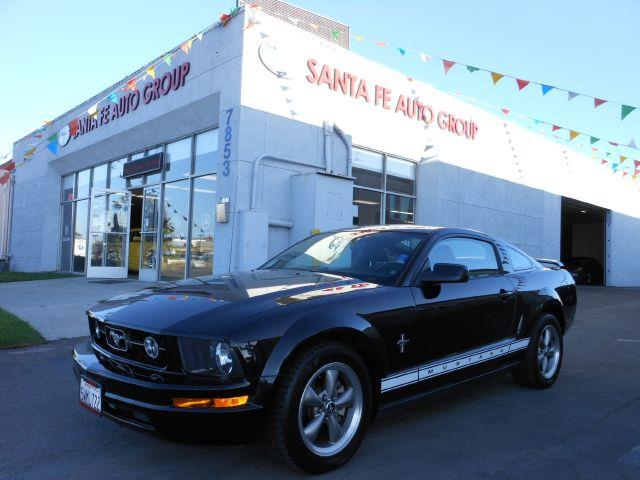 2006 FORD MUSTANG PRIMIUM black all power equipment is functioning properly  vehicle is defect fr
