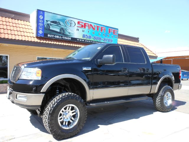 2004 FORD F150 LARIAT SUPERCREW 2WD black all electrical and optional equipment on this vehicle ha