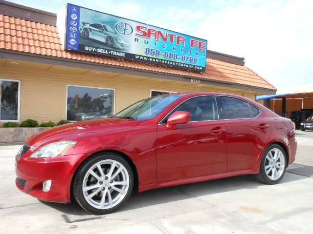 2007 LEXUS IS 250 IS 250 6-SPEED SEQUENTIAL met red all power equipment is functioning properly