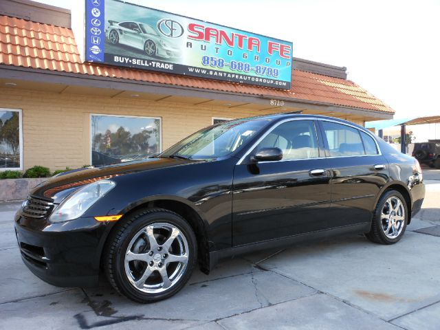 2004 INFINITI G35 SEDAN AWD WITH LEATHER black the electronic components on this vehicle are in wo