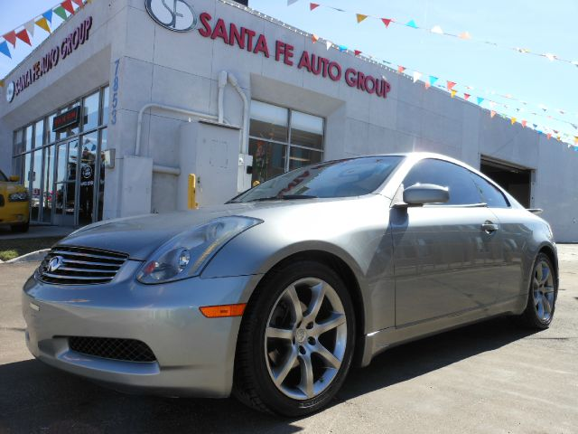 2004 INFINITI G35 COUPE WITH LEATHER gray all power equipment is functioning properly  no defects