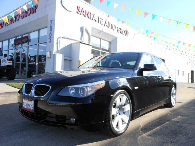 2004 BMW 5 SERIES 530I black there are no dings visible on the exterior of this vehicle  this veh
