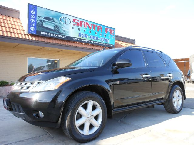 2003 NISSAN MURANO SE 2WD black all power equipment is functioning properly  there are no defects