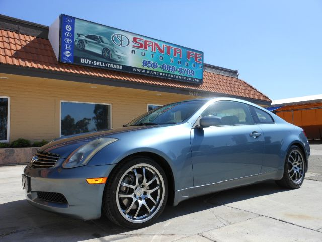 2005 INFINITI G35 COUPE blue there are no electrical problems with this vehicle  this vehicle has