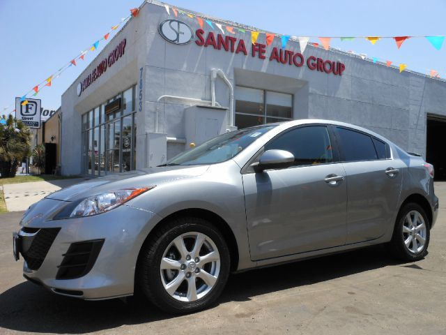 2010 MAZDA 3 I SPORT 4-DOOR gray all power equipment on this vehicle is in working order this veh