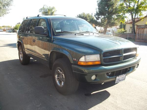 2000 DODGE DURANGO green this is a beautiful green 2000 dodge durango 4 door wagon automatic v8 4