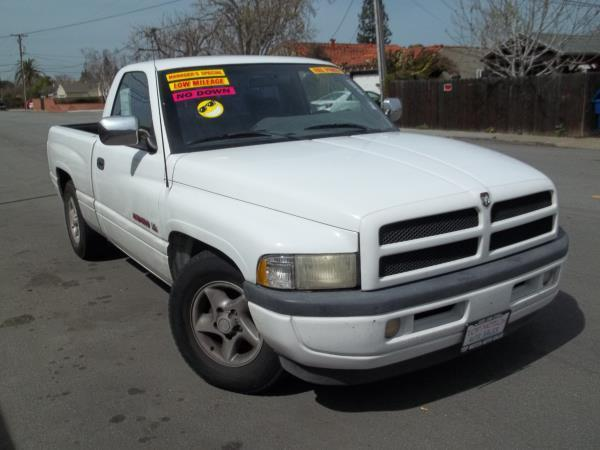 1997 DODGE RAM 1500 white 171529 miles VIN 1B7HC16Z9VJ542639 