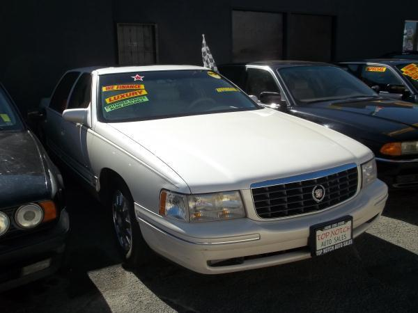 1999 CADILLAC DEVILLE white this is a white 1999 cadillac deville 4 door sedan  v8 46l fwd car w