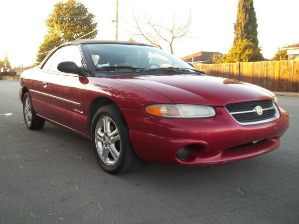 1997 CHRYSLER SEBRING red this is a beautiful red 1997 chrysler sebring 2 door convertible  v6 2