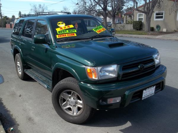 1999 TOYOTA 4RUNNER green this is a beautiful green 1999 toyota 4runner 4 door sport utility autom