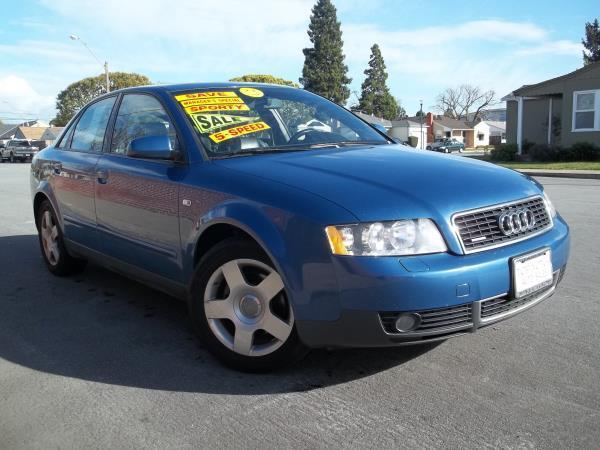 2002 AUDI A4 blue this is a beautiful blue 2002 audi a4 4 door sedan  l4 18l dohc turbo awd ca