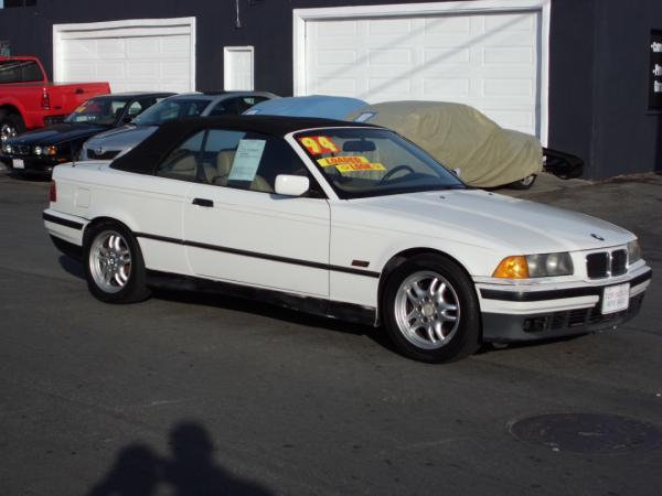 1995 BMW 3 SERIES white this is a 1995 bmw 3 series 2 door convertible 4 speed automatic l6 25l