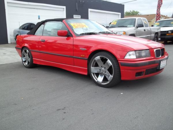 1998 BMW 3 SERIES red this is a red 1998 bmw 3 series 2 door convertible 5 speed manual l6 25l