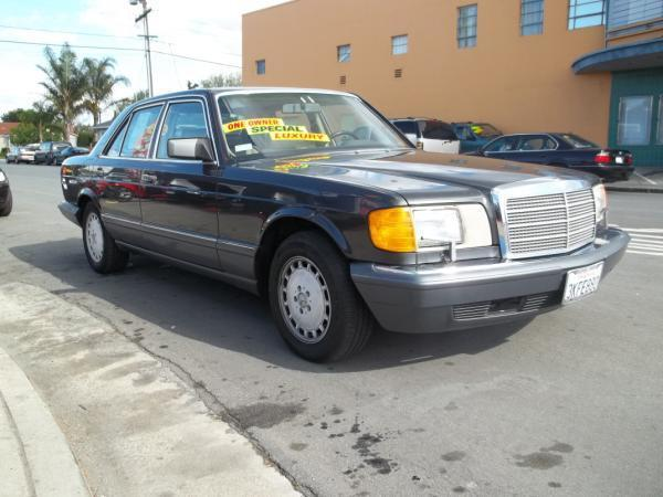 1989 MERCEDES-BENZ 300 charcoal this is a charcoal 1989 mercedes-benz 300 4 door sedan  l6 30l 
