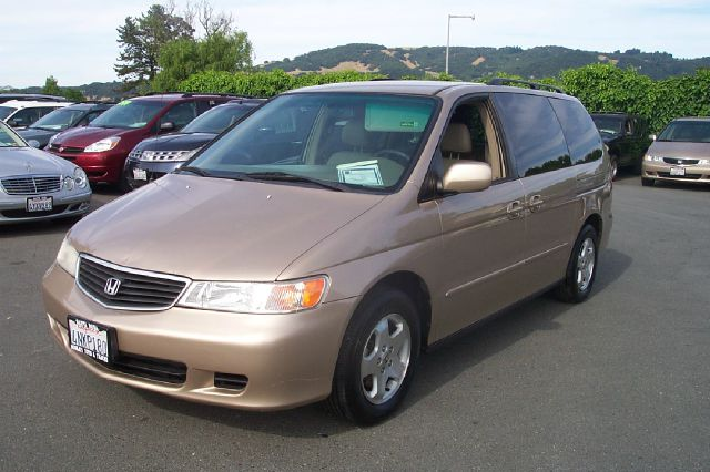 2001 HONDA ODYSSEY EX gold abs brakesair conditioningalloy wheelsamfm radioanti-brake system
