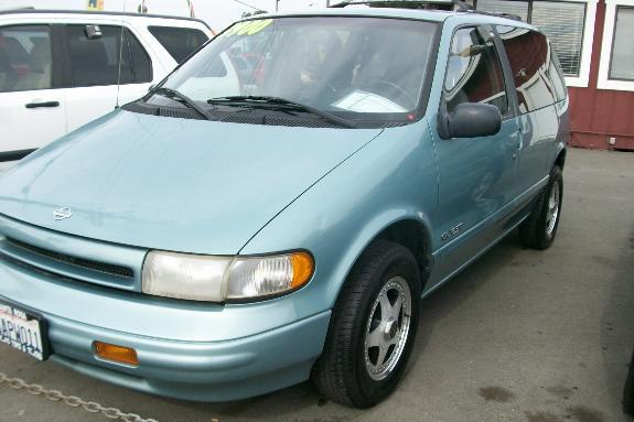 1994 NISSAN QUEST XE sky blue 186447 miles VIN 4N2DN11W1RD853179 