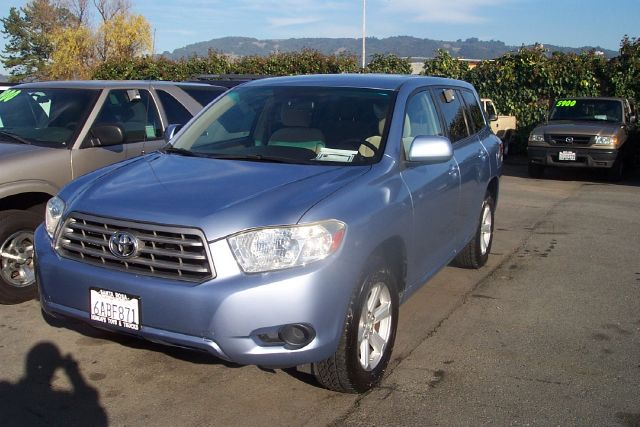 2008 TOYOTA HIGHLANDER 4WD blue 4wdawdabs brakesair conditioningalloy wheelsamfm radioanti-