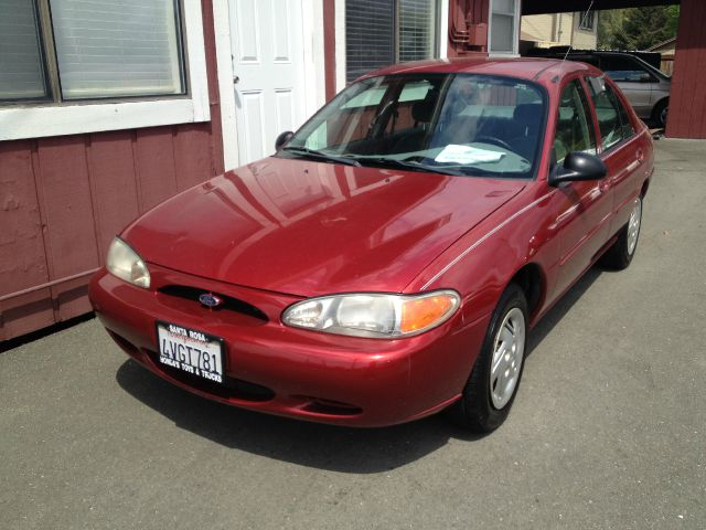 2000 FORD ESCORT SEDAN red amfm radioanti-brake system non-abs  4-wheel absbody style sedan