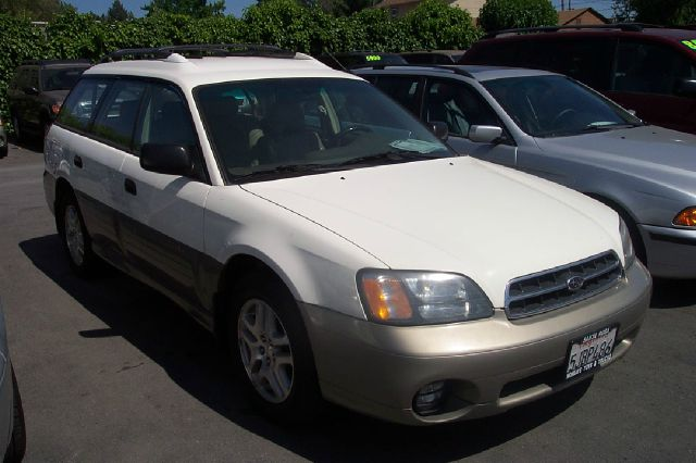 2001 SUBARU OUTBACK WAGON white 5 speed manual 4wdawdabs brakesair conditioningalloy wheelsam
