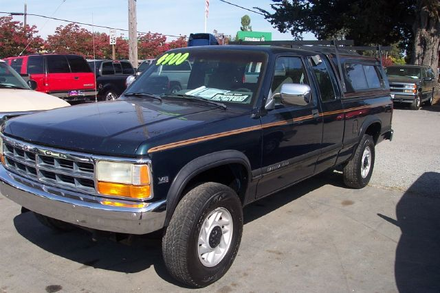 1992 DODGE DAKOTA black 2 door4 wheel driveair conditioningautomatic transmissioncruise contro