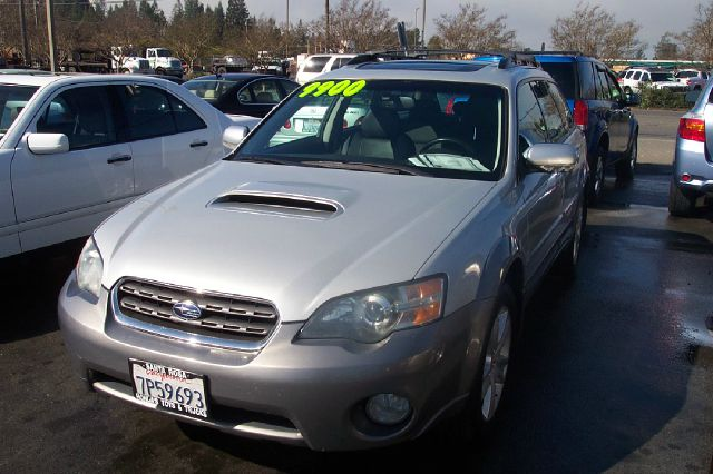 2005 SUBARU OUTBACK 25XT LIMITED WAGON silver 4wdawdabs brakesair conditioningalloy wheelsam