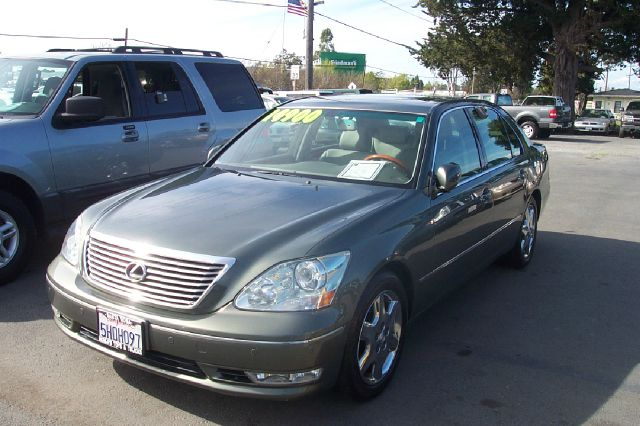 2004 LEXUS LS 430 SEDAN green abs brakesair conditioningalloy wheelsamfm radioanti-brake syst