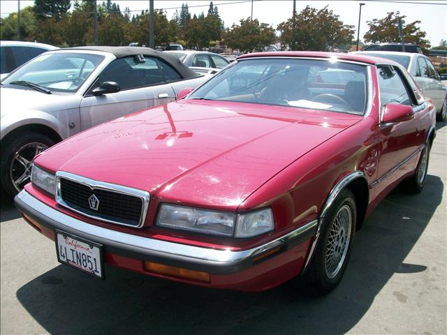 1989 MASERATI TC CHRYSLER red 2 doorair conditioningalloy wheelsamfm radioantilock brakesaut