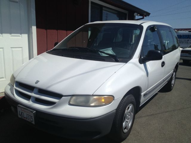 2000 DODGE CARAVAN white no rear seats amfm radioanti-brake system non-abs  4-wheel absbody