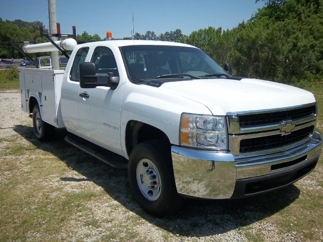 2007 CHEVROLET SILVERADO 2500 EXTENDED SERVICE SERVICE TRUCK white extended cab with a knapheide s