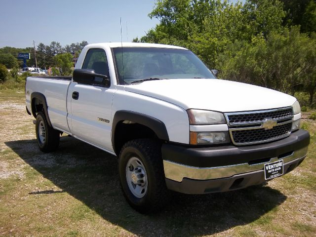 2005 CHEVROLET SILVERADO 2500 LONG BED 4WD white fleet preowned with an excellent maintenance prog