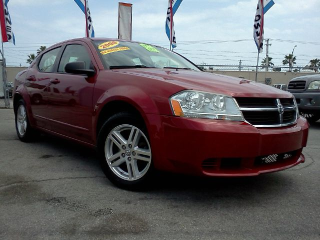 2008 DODGE AVENGER SXT red abs brakesair conditioningalloy wheelsamfm radioanti-brake system