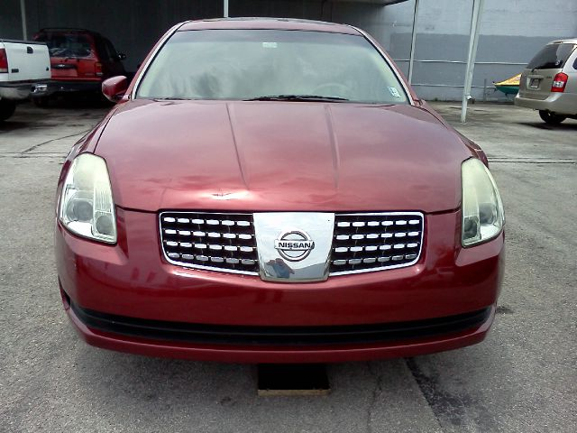 2005 NISSAN MAXIMA SE red blow out sale abs brakesair conditioningalloy wheelsamfm ra