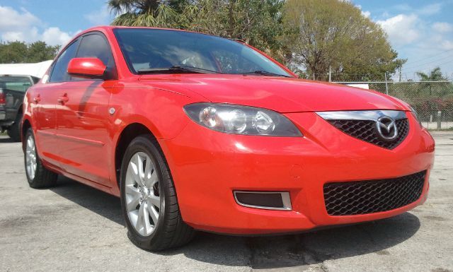 2008 MAZDA 3 I SPORT 4-DOOR red air conditioningamfm radioanti-brake system non-abs  4-wheel