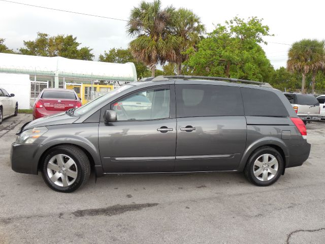 2005 NISSAN QUEST 35 SE gray abs brakesadjustable foot pedalsair conditioningalloy wheelsamf