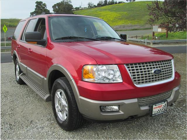 2003 FORD EXPEDITION EDDIE BAUER SPORT UTILITY 4D burgundy still looks like brand new 12gg