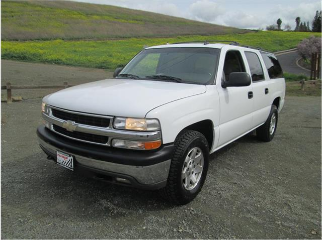 2006 CHEVROLET SUBURBAN SPORT UTILITY 4D white financing available bad credit first time buyers 