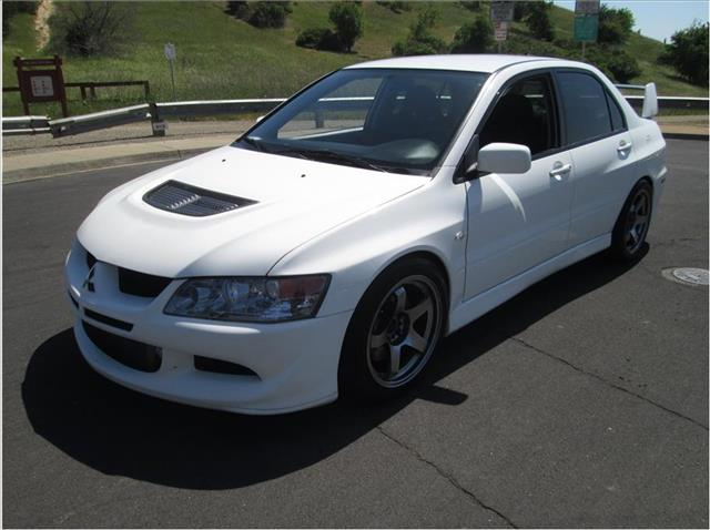 2003 MITSUBISHI LANCER EVOLUTION EVOLUTION SEDAN 4D white financing available bad credit first ti