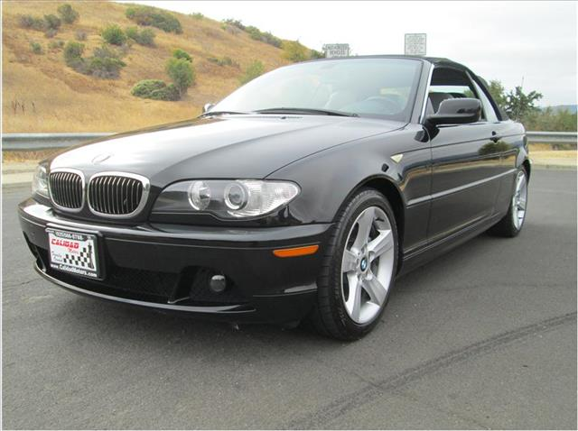 2006 BMW 3 SERIES 325CI CONVERTIBLE 2D black financing available bad credit first time buyers op