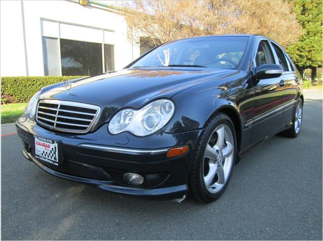 2005 MERCEDES-BENZ C-CLASS C230 SPORT SEDAN 4D dark blue financing available bad credit first tim