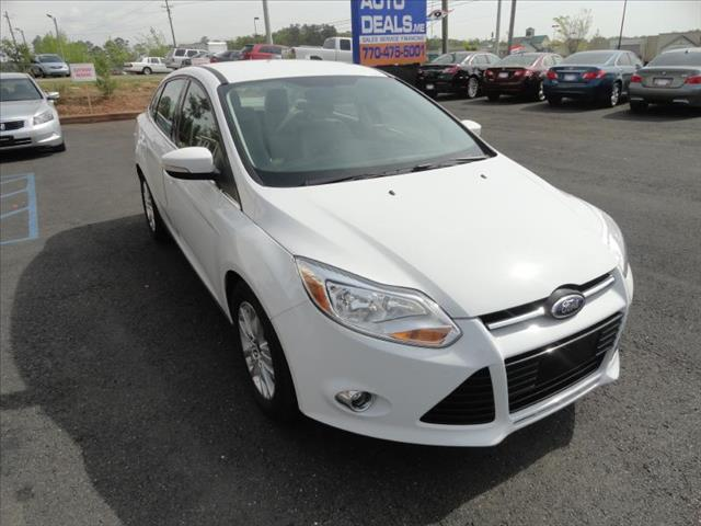 2012 FORD FOCUS SEL white come and check it out today lowest prices in the state you wont find
