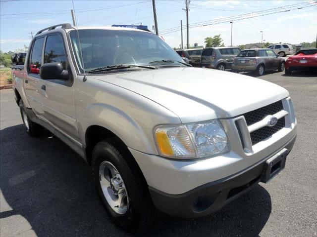 2005 FORD EXPLORER SPORT TRAC XLS silver driver air bag passenger air bag ac amfm stereo cd