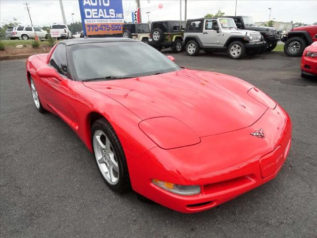 2000 CHEVROLET CORVETTE COUPE red in excellent condition come and check it out today the best de