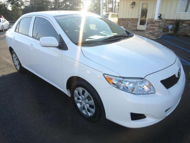 2010 TOYOTA COROLLA LE white come and check it out today lowest prices in the state you wont fi