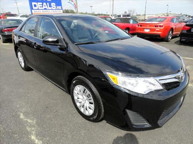 2012 TOYOTA CAMRY SE black come and check it out today lowest prices in the state you wont find