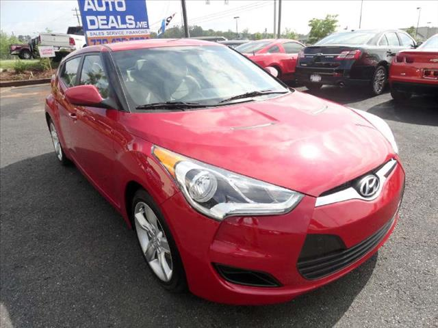 2012 HYUNDAI VELOSTER COUPE red come and check it out today lowest prices in the state you wont