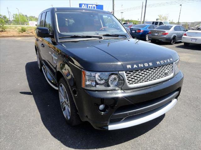 2011 LAND ROVER RANGE ROVER SPORT SPORT AUTOBIOGRAPHY black come and check it out today lowest pr